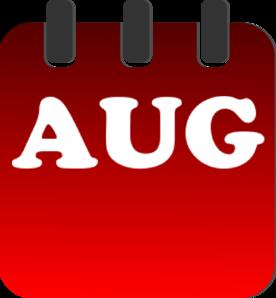 August calendar clipart vector free stock August calendar clipart free - ClipartFest vector free stock