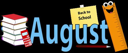August calendar clipart svg royalty free Calendar clipart august - ClipartFest svg royalty free