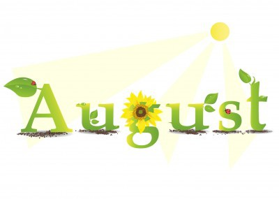 For clipartfest by month. August calendar clipart free