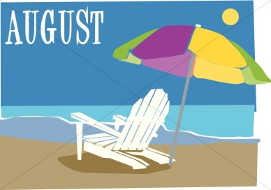 August calendar clipart free. Clipartfest
