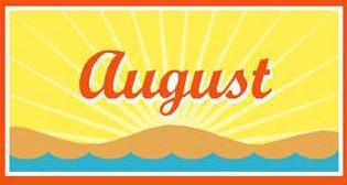 August clipart calendar banner royalty free library Calendar august clipart wallpapers image - Clipartix banner royalty free library