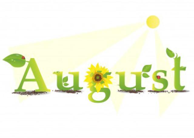 Clipartfest clip art. August clipart calendar