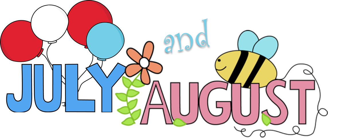 August month clip art graphic black and white Newsletter - Geneva Presbyterian Church graphic black and white
