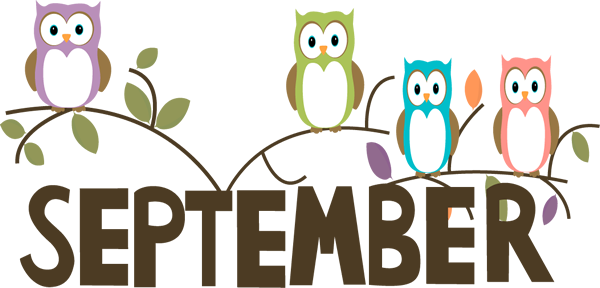 August month clip art. September clipart clipartfest welcome