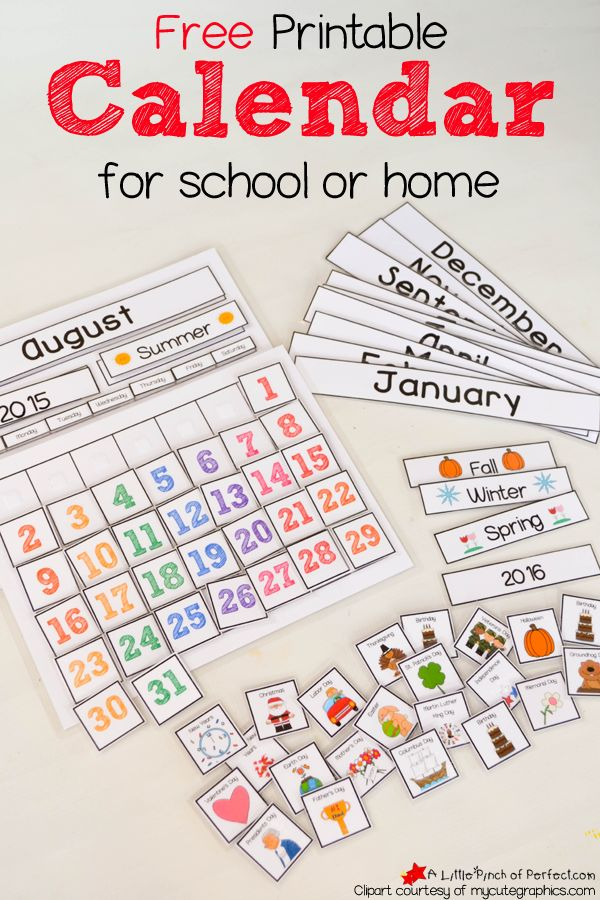 August preschool calendar clipart jpg royalty free stock 1000+ ideas about Preschool Calendar on Pinterest | Preschool ... jpg royalty free stock