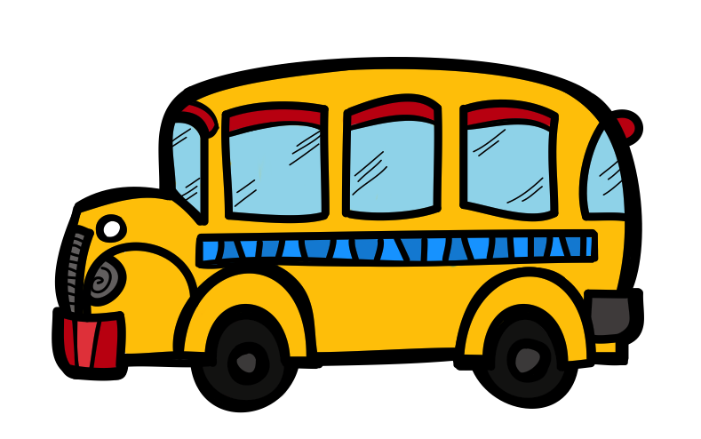 School bus clipart free stock The Creative Chalkboard: Free School Bus Clipart and KIDS Bundle ... stock