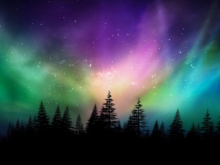 Aurora boreal clipart clip Northern Lights Over Labor Day Weekend: Best Chance Of Visibility ... clip