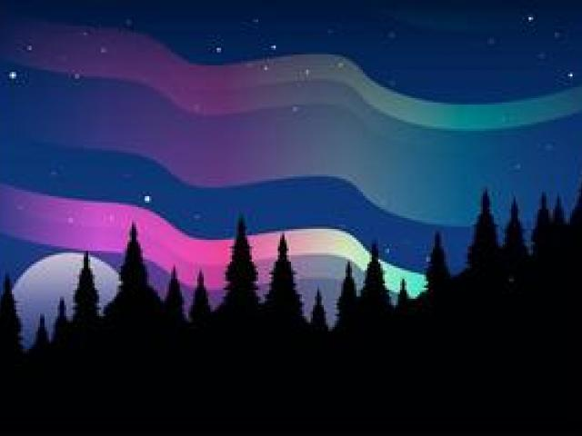 Aurora boreal clipart banner library library Free Aurora Borealis Clipart, Download Free Clip Art on Owips.com banner library library