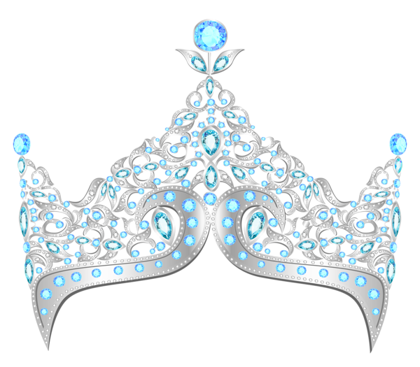 Crown diamonds clipart