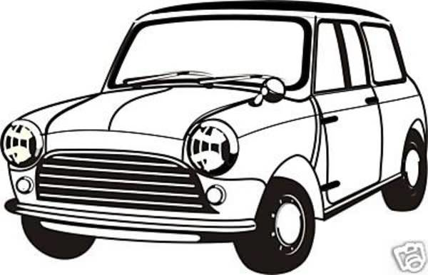 Austin mini cooper clipart clipart freeuse Clipart Austin Mini | Free Images at Clker.com - vector clip art ... clipart freeuse