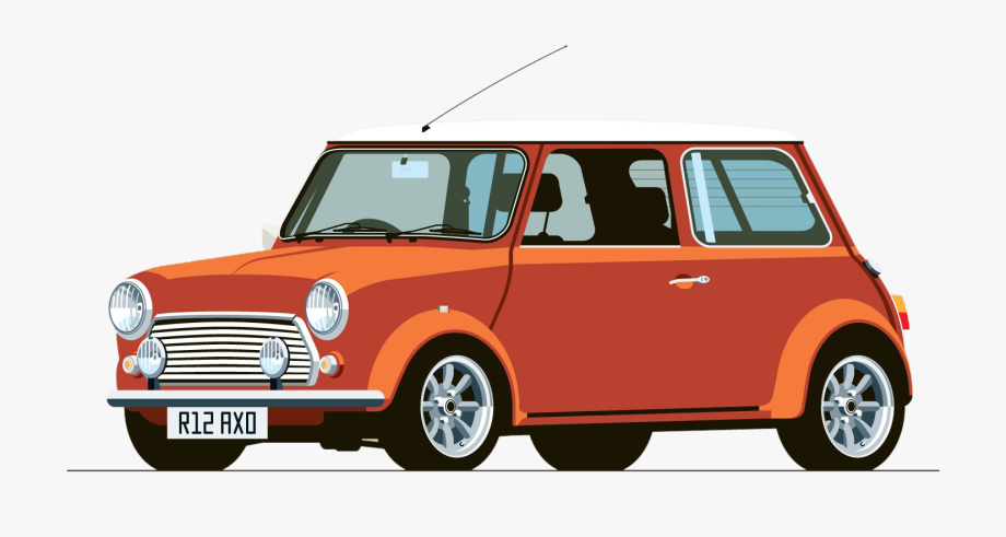 Austin mini cooper clipart clip art freeuse stock Mini Cooper Classic Car Hot E9 Bmw - Old Mini Cooper Illustration ... clip art freeuse stock