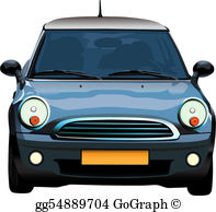 Austin mini cooper clipart picture transparent Mini Cooper Clip Art - Royalty Free - GoGraph picture transparent
