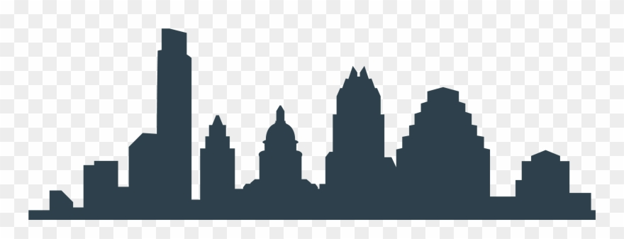 Austin skyline clipart free jpg download Png Black And White Download Austin Silhouette At Getdrawings ... jpg download
