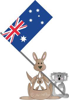 Australia day 2016 clipart picture black and white stock 21 Best Australia Day images in 2016 | Australia day, Happy ... picture black and white stock