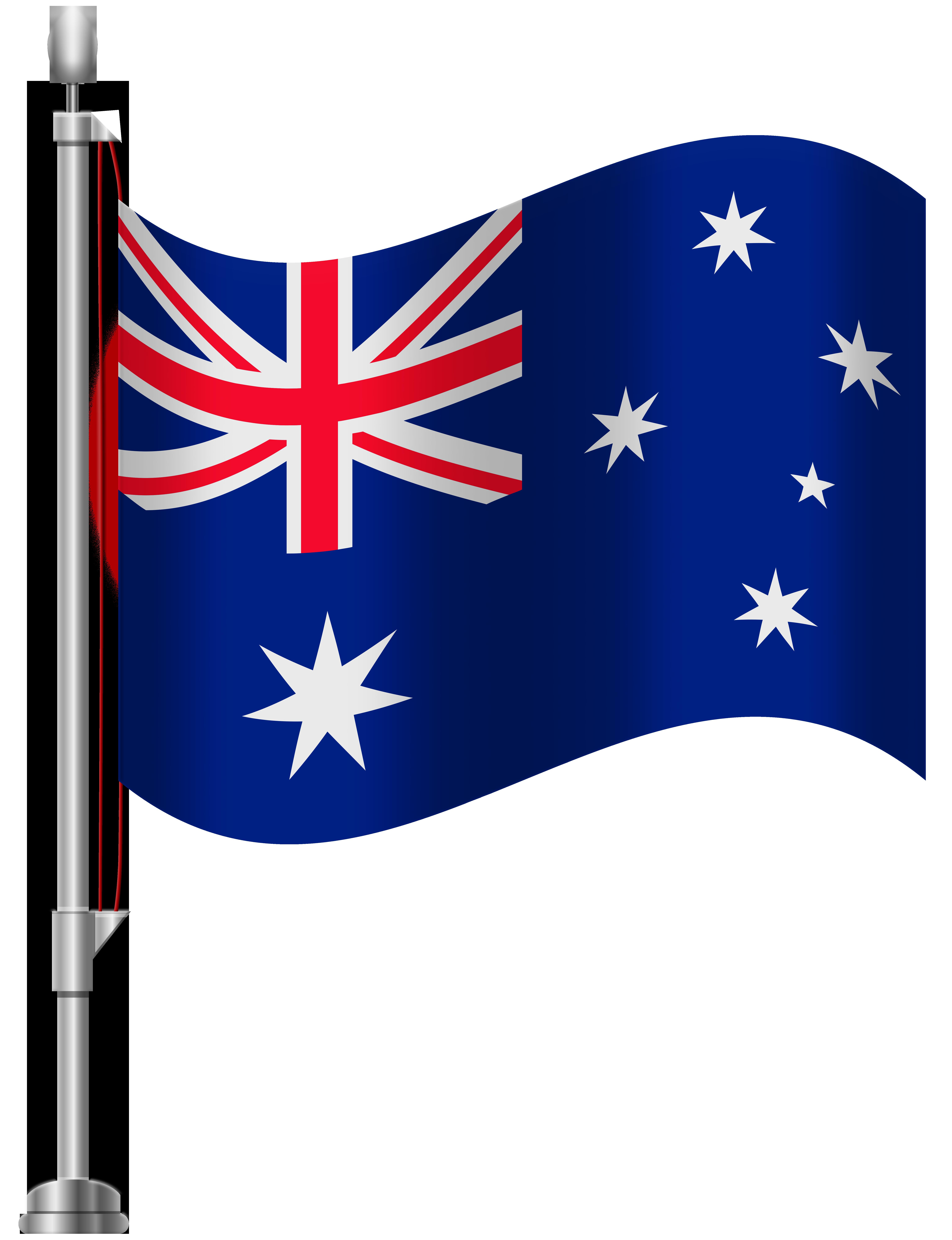 Australia flag transparent clipart banner royalty free download Australia Flag PNG Clip Art - Best WEB Clipart banner royalty free download