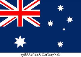 Australia flag clipart png transparent Australia Flag Clip Art - Royalty Free - GoGraph png transparent
