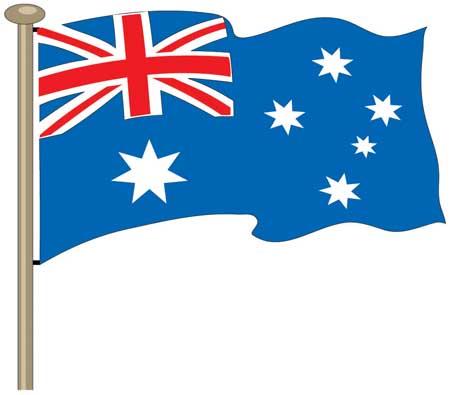 Australia flag clipart graphic freeuse Australian flag clipart 2 » Clipart Station graphic freeuse