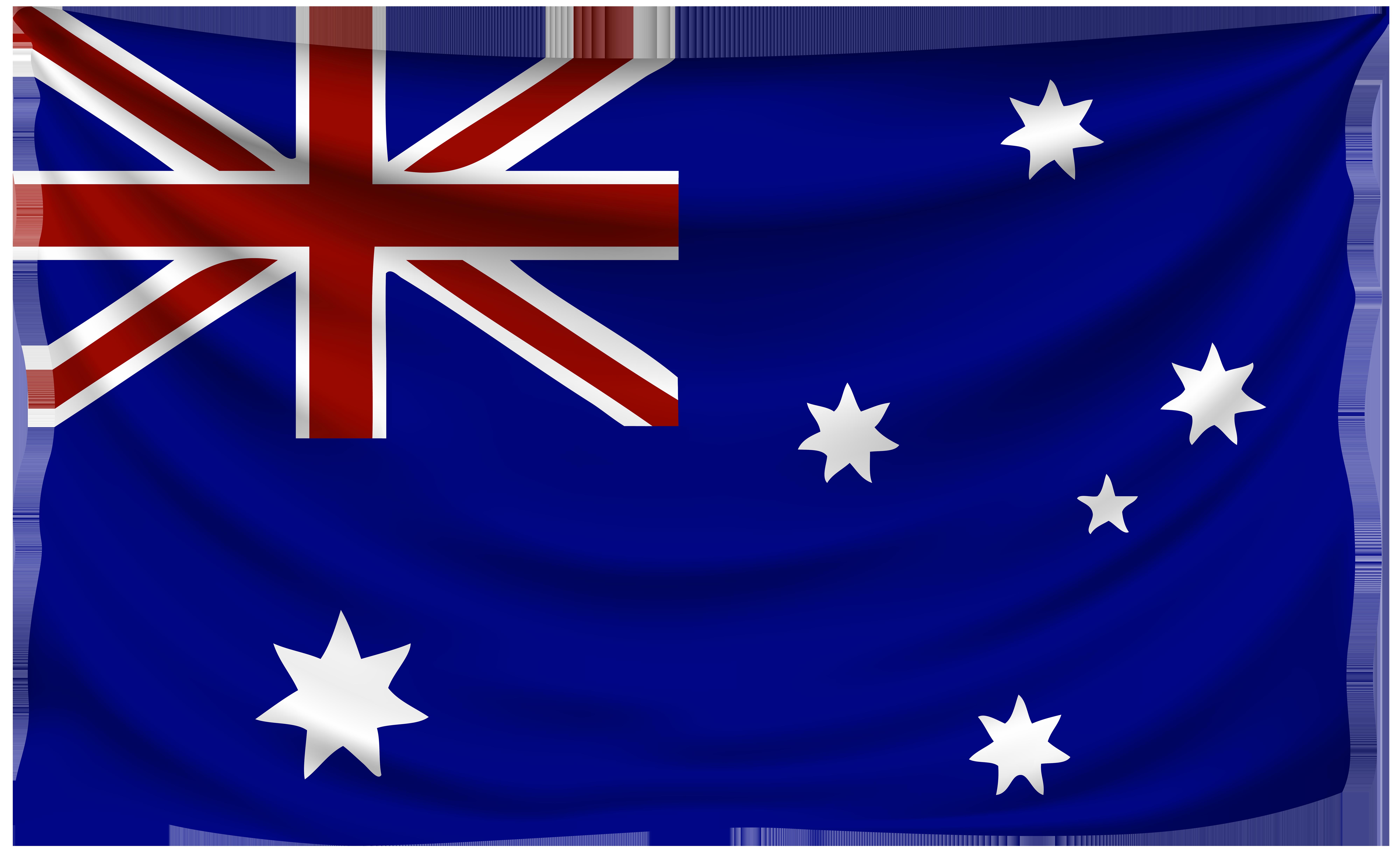 Australia flag transparent clipart svg black and white library Australia Wrinkled Flag   Gallery Yopriceville - High-Quality ... svg black and white library