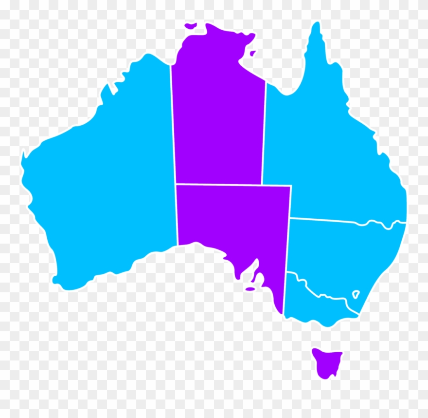 Australia map with states clipart clip black and white File Adobt Australia States Map Png Wikimedia Commons - Australia ... clip black and white