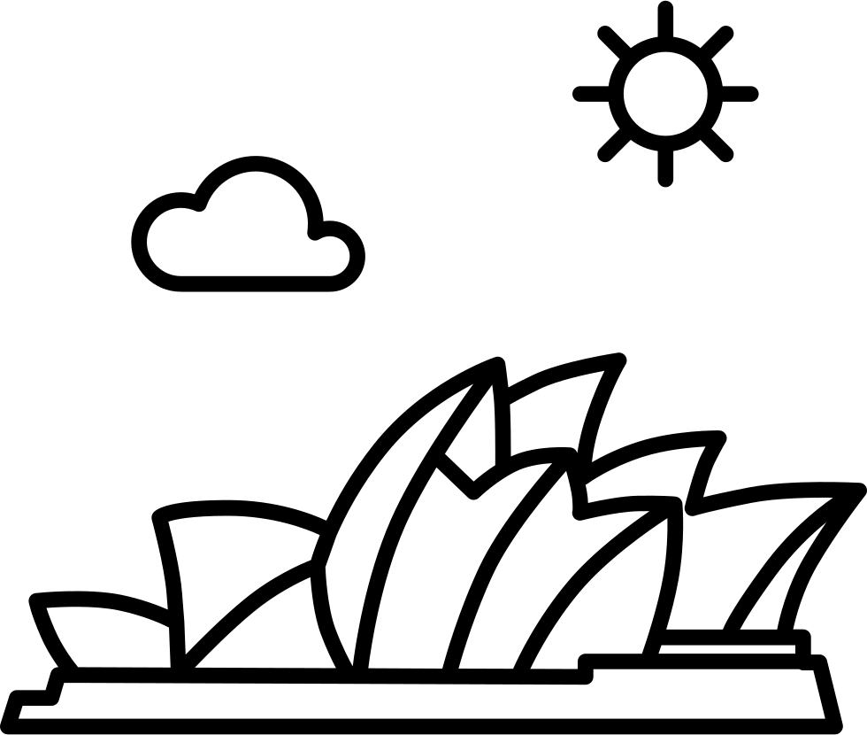 Australia opera house black and white clipart svg royalty free stock 28+ Collection of Sydney Opera House Drawing Outline | High quality ... svg royalty free stock