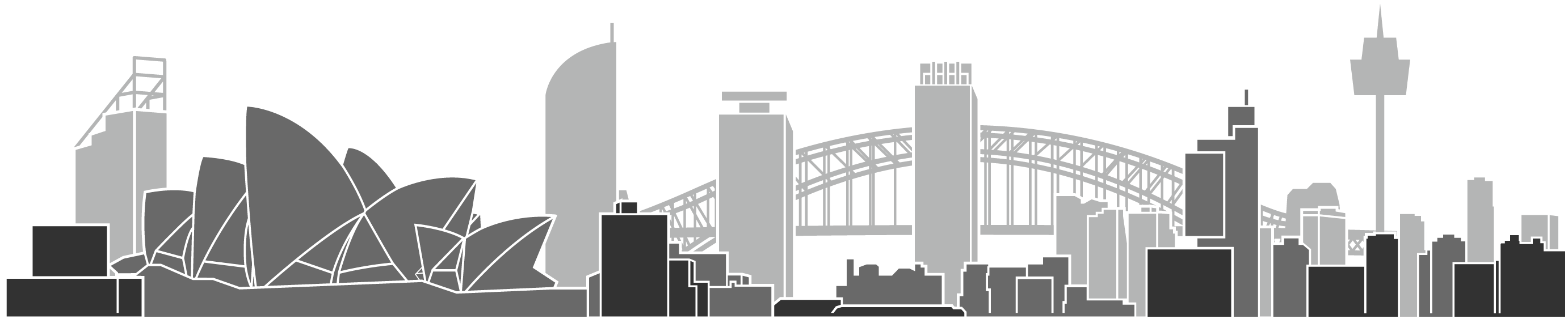 Australia opera house black and white clipart clip transparent download Sydney Opera House Transparent PNG | PNG Mart clip transparent download