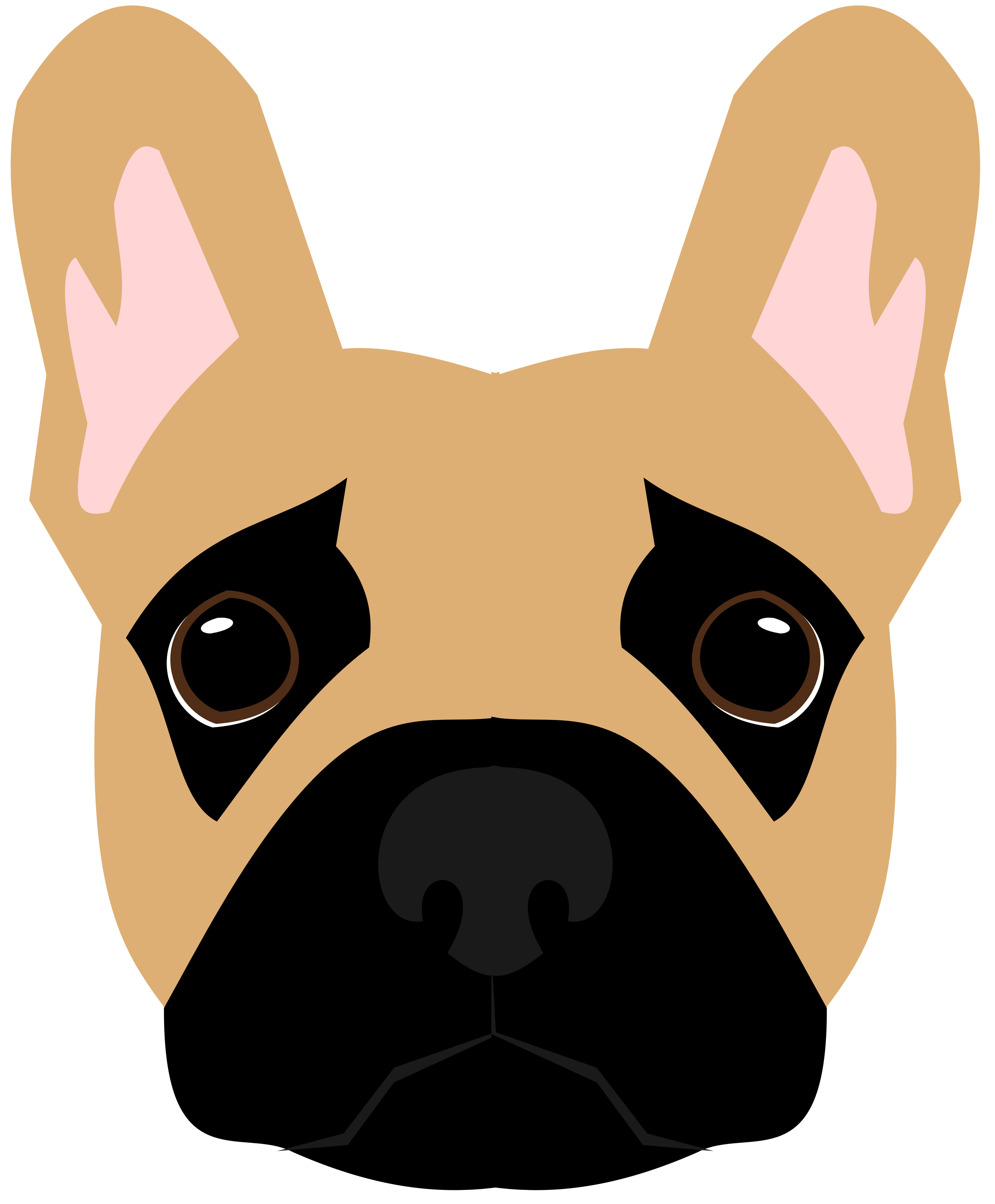 Dog butt clipart clip library library Frenchie vector | DOGART | Pinterest | Dolls and Patterns clip library library