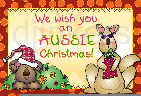 Clipart australian christmas picture freeuse download Australian Bush Christmas Clipart | Free Images at Clker.com ... picture freeuse download