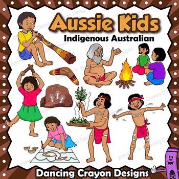 Young aboriginal boy clipart graphic library Kids Clip Art: Indigenous Australian Children Clipart | AWESOME clip ... graphic library