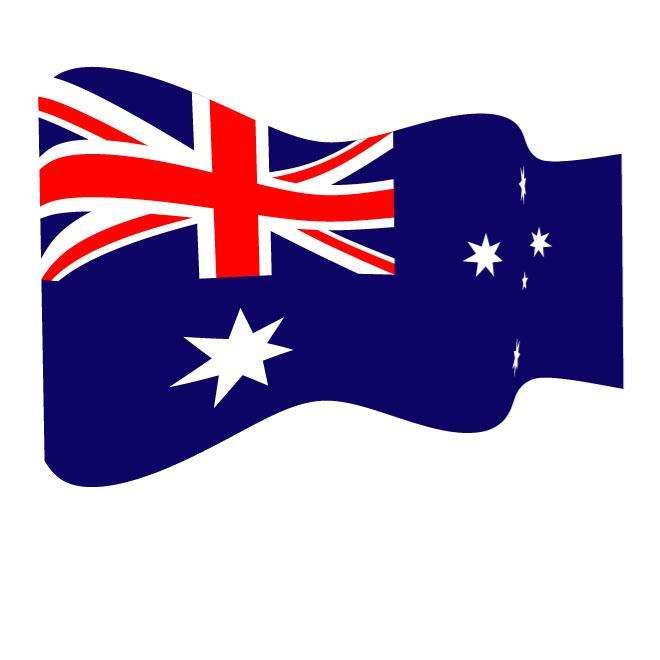 Australian flag waving clipart vector royalty free stock AUSTRALIAN WAVY VECTOR FLAG - Free vector image in AI and EPS format. vector royalty free stock