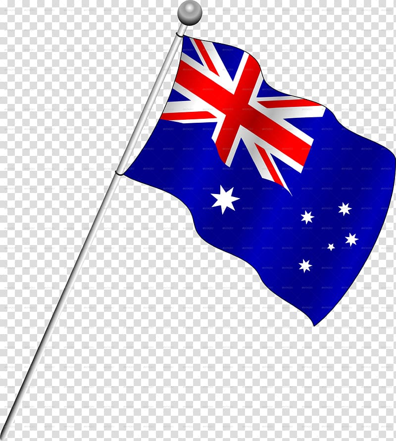 Australian flag waving clipart graphic royalty free stock Blue, red, and white flag illustration, Flag of Australia ... graphic royalty free stock