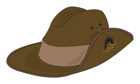 Australian hat clipart picture free anzac day hat clipart | Anzac day celebration | Anzac day, Clip art ... picture free