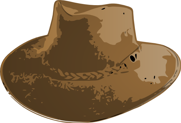 Australian hat clipart graphic library library Aussie Hat Clip Art at Clker.com - vector clip art online, royalty ... graphic library library