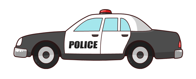 Australian police car clipart jpg transparent download Police car lights clipart - ClipartFest jpg transparent download