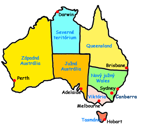 Australian states clipart graphic black and white library Australian States And Capitals - ClipArt Best graphic black and white library