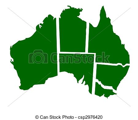 Australian states clipart clip art freeuse stock Clip Art of Western Australia state badge isolated on white ... clip art freeuse stock