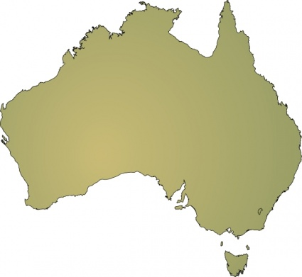 Australian states clipart image free download Clip art maps of australia - ClipartFest image free download