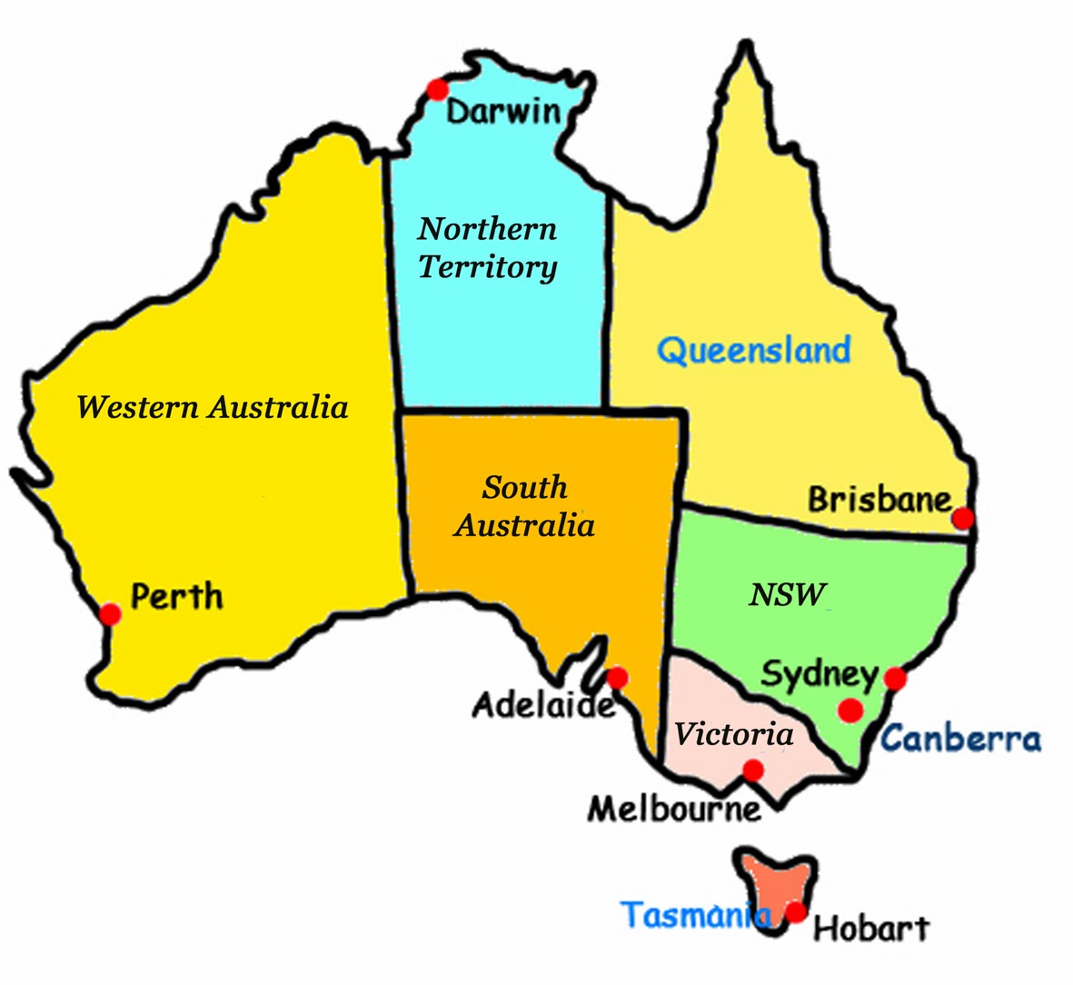 Australian states clipart picture download Australian states clipart - ClipartFest picture download