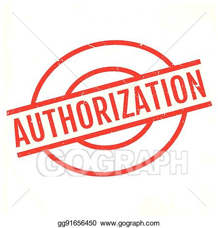 Authorization clipart clipart transparent stock Vector Illustration - Authorization rubber stamp. EPS Clipart ... clipart transparent stock