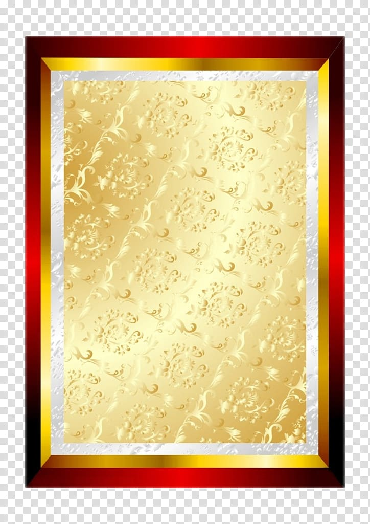 Authorization clipart clipart royalty free Gold floral border, Authorization, Gold Shapai transparent ... clipart royalty free