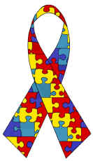 Autism awareness clipart. Design by raven muse