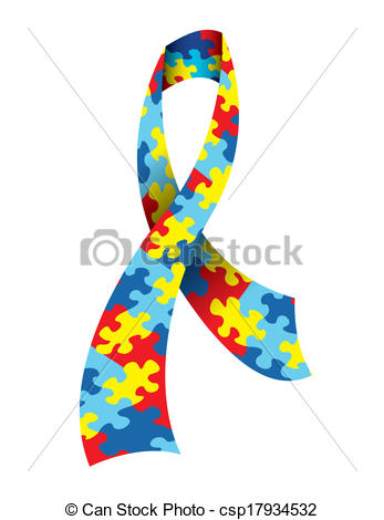 Autism awareness clipart vector library library Autism Stock Illustration Images. 578 Autism illustrations ... vector library library