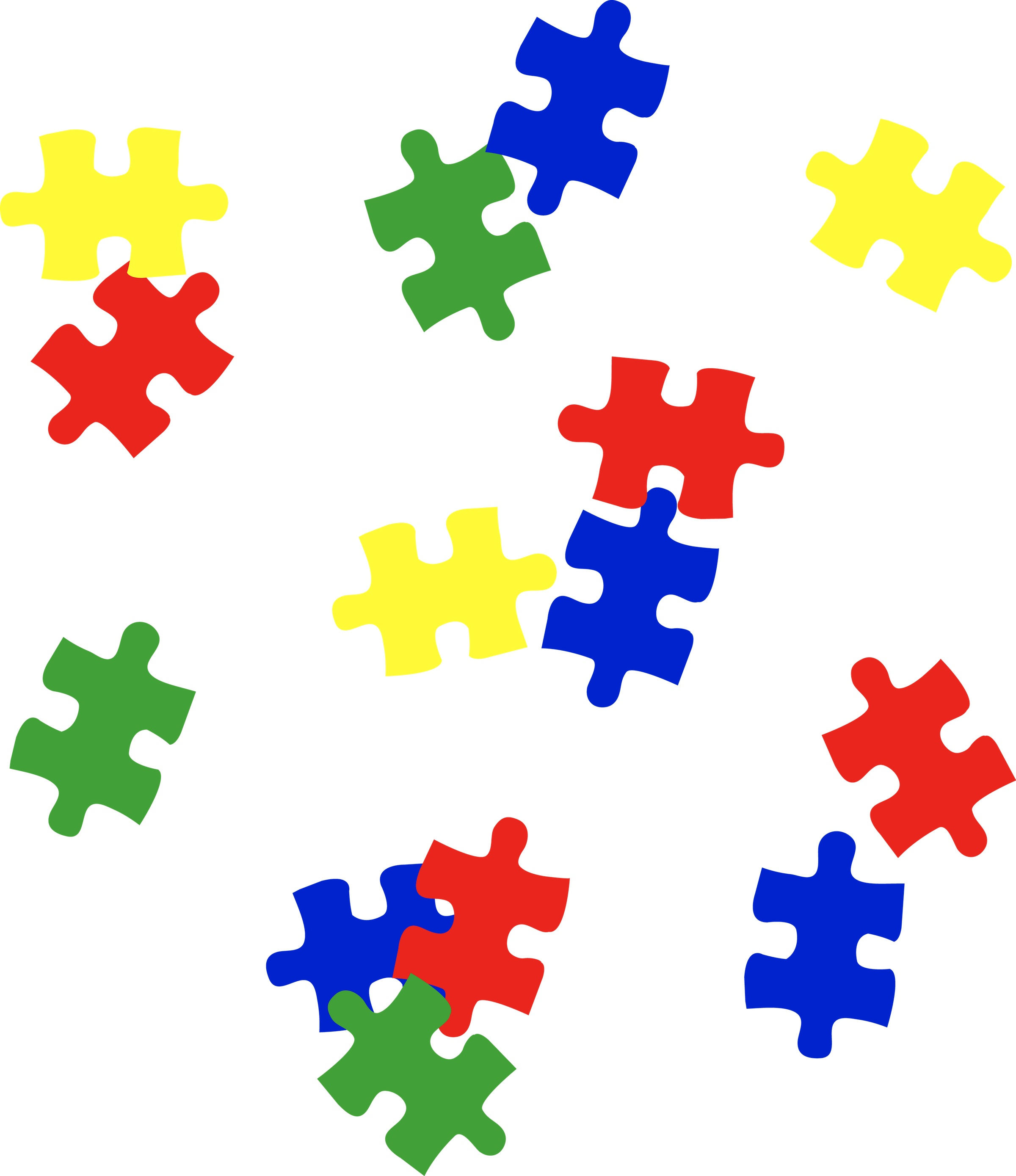 Autism awareness clipart image black and white Autism Awareness Clip Art – Clipart Free Download image black and white