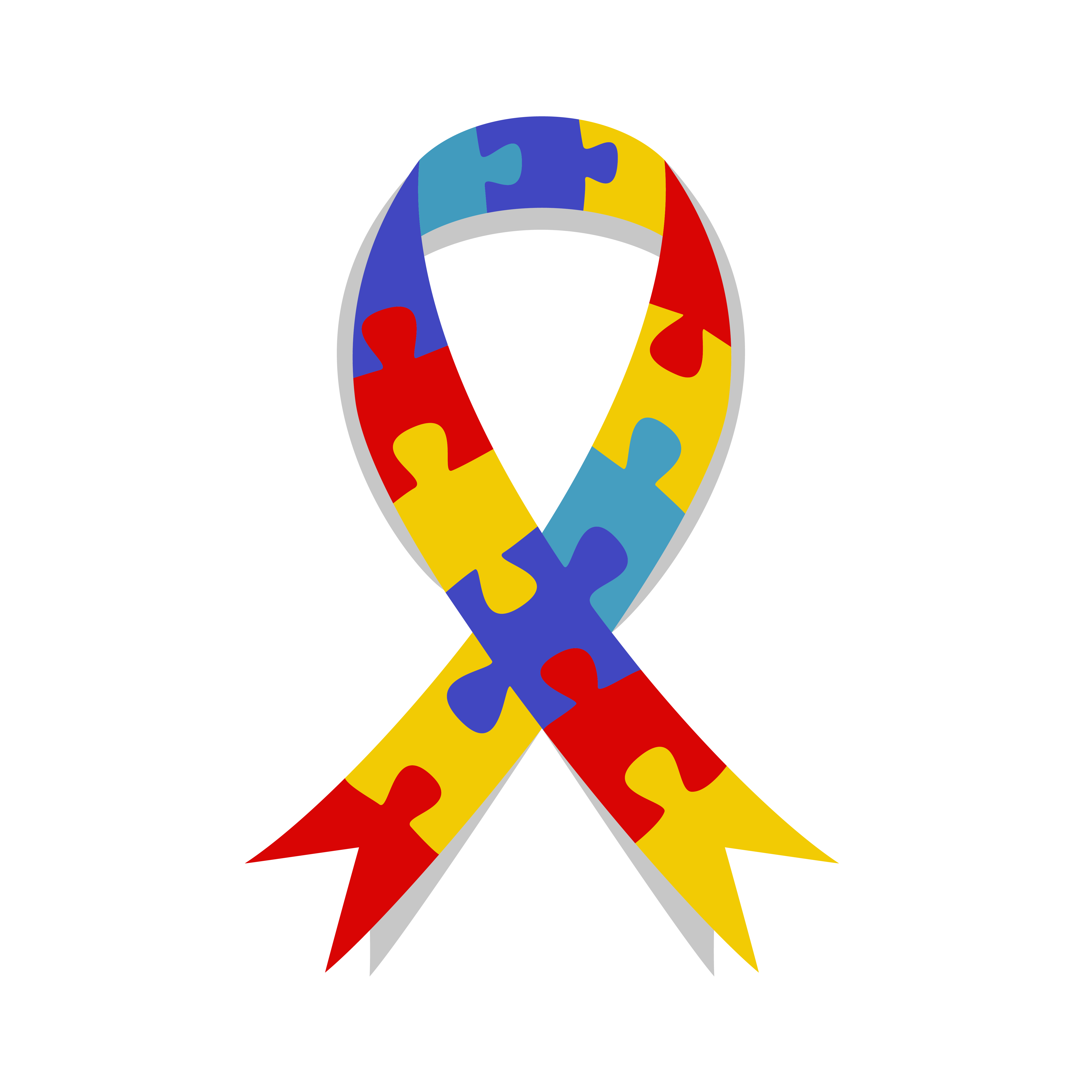 Free autism awareness ribbon clipart graphic freeuse April is Autism Awareness Month. Here\'s How You Can Get Involved ... graphic freeuse