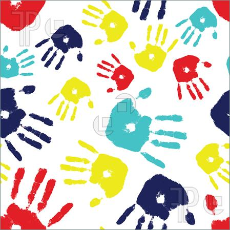 Autism clip art border banner transparent stock Handprint Clipart Border | Clipart Panda - Free Clipart Images banner transparent stock