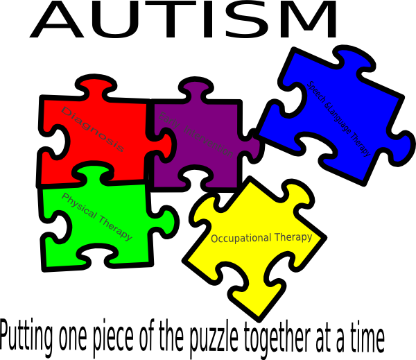 Putting one piece of. Autism clip art pictures