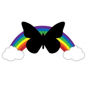 Clipart butterfly. Autism clip art pictures
