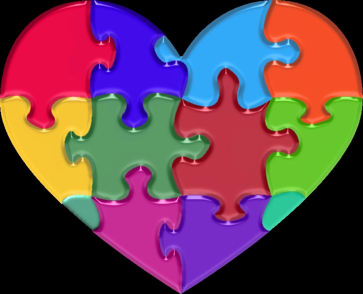 Heart clipart clipartfox. Autism clip art pictures