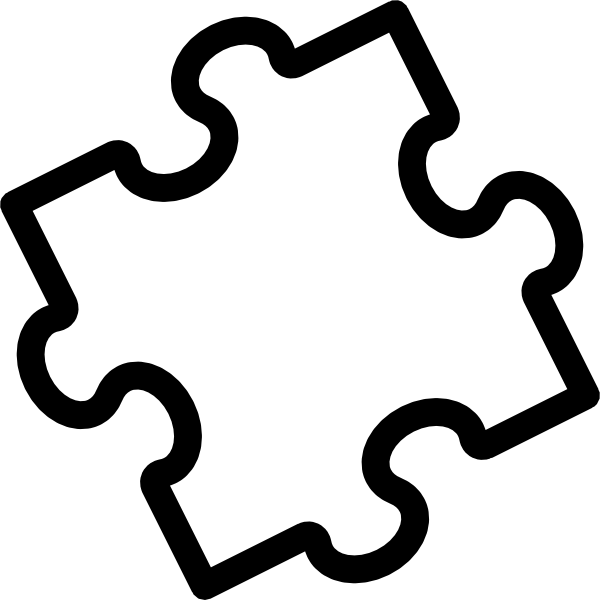 House puzzle clipart picture library download large puzzle pieces template | Photography | Pinterest | Puzzle ... picture library download