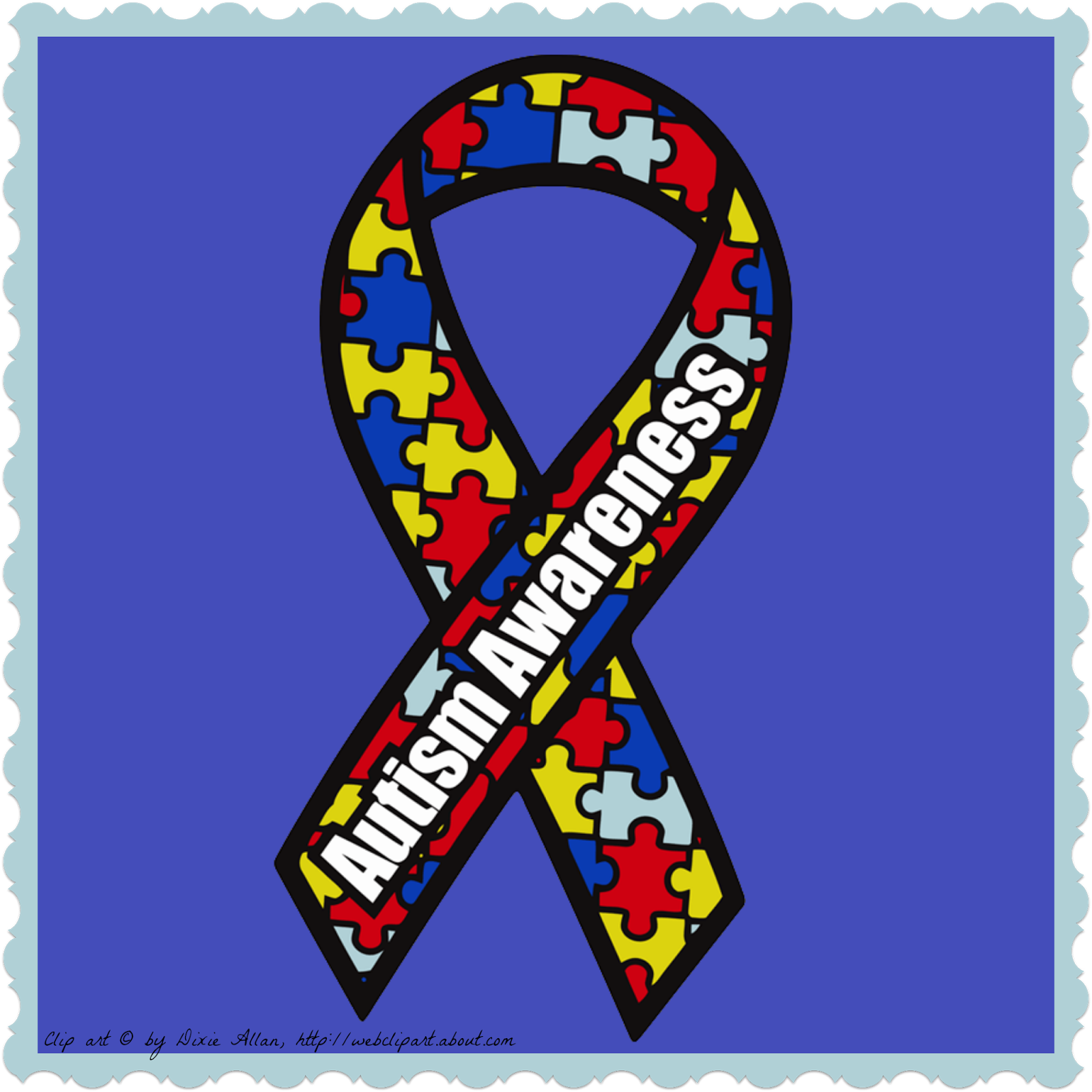 Autism heart clipart picture free Gearing up for National Autism Awareness Month-Freebies | Autism ... picture free