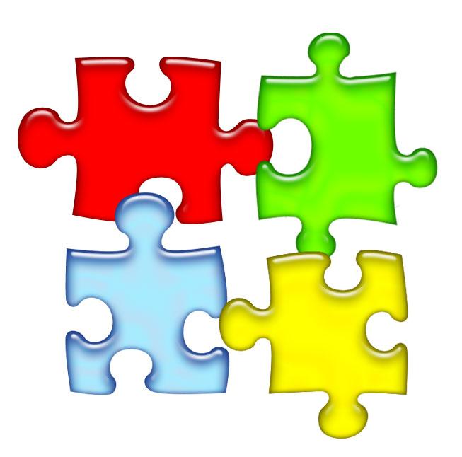 Puzzle clipart best . Autism logo clip art